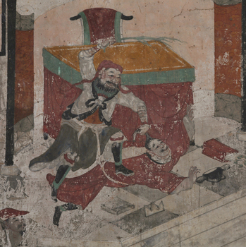 03_関帝廟壁画「張飛、督郵を鞭打つ」(部分)_72dpi以下.jpg