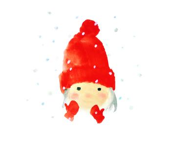 【7】赤い毛糸帽の女の子(1972年).jpg